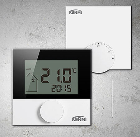 Регулятор температуры в помещении KERMI xnet LCD 230V SFEER001230 - 2