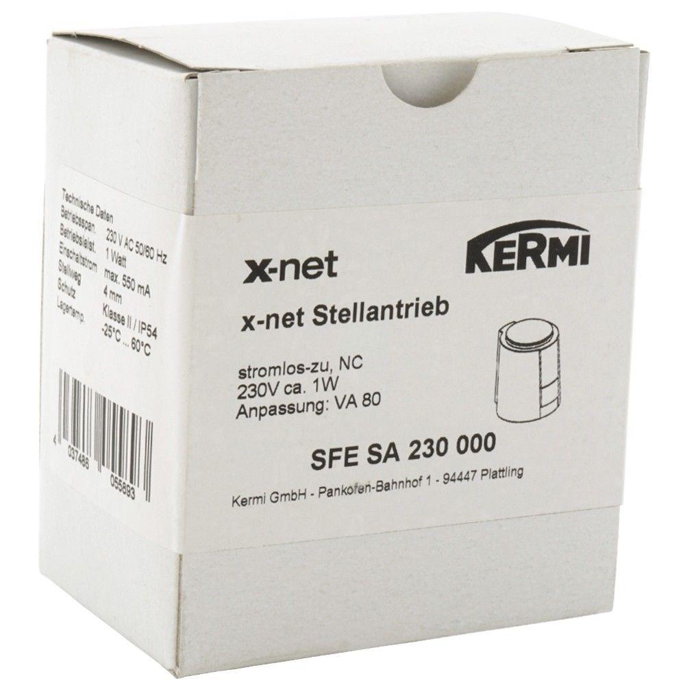 Сервопривод KERMI xnet, 230В SFESA230000 - 3